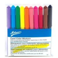 Ateco Marker Style Food Color Kit