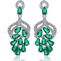 Vintage Accessory Creative Water Droplets Earrings [4918341828]