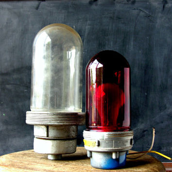 Vintage Hazard Lights Industrial Lighting Your Choice