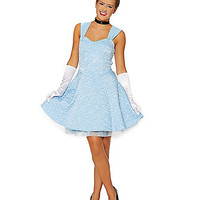 Blue Storybook Princess Dress - Spirithalloween.com