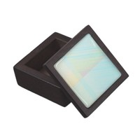 Pretty Pastels - Pale Colored Abstract Jewelry Box
