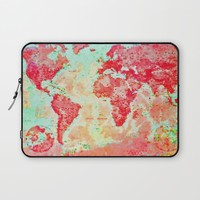 Oh, The Places We'll Go... Laptop Sleeve by ALLY COXON