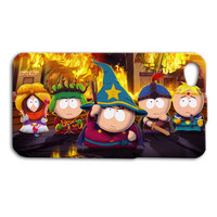 Harry Potter South Park Parody Funny Cute Custom Case Cover iPhone 4 iPhone 4s iPhone 5 iPhone 5s