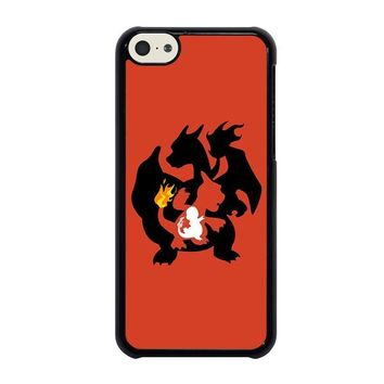 pokemon charmander charmeleon charizard iphone 5c case cover  number 1