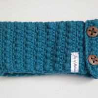 Sea Green Wool Headband