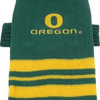 Oregon Ducks Pet Sweater MD