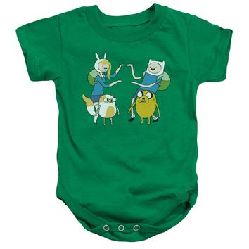 Adventure Time - Meet Up Infant Snapsuit Officially Licensed Baby Clothing