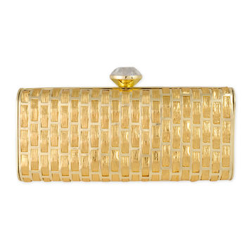 Love Moschino Accessories Yellow Brick Road Clutch