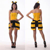 Bee Cosplay Anime Cosplay Apparel Holloween Costume [9211523908]