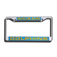 Miami Dolphins License Plate Frame