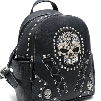 Skull Backpack (3 Colors)