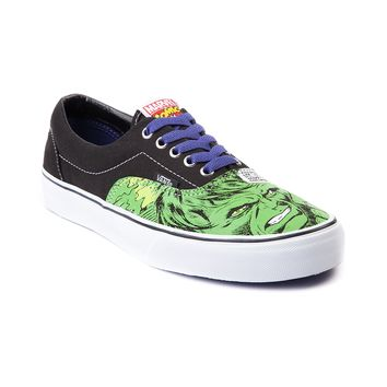Vans Era Incredible Hulk Skate Shoe, Black | Journeys Shoes