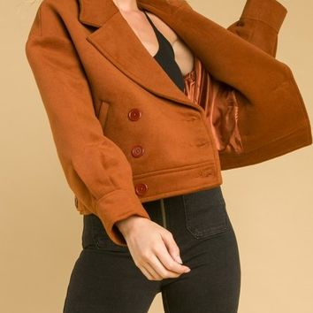 Jacket With Yoke And Lapel (8IT1065H)