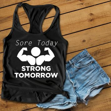Sore Today Women's Ideal Racerback Tank