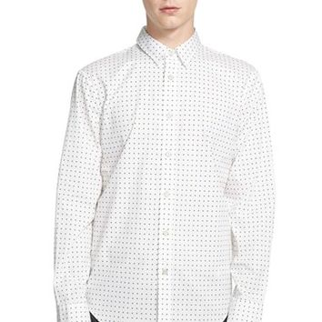 Men's rag & bone Trim Fit Tie Print Sport Shirt,