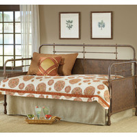 1502-kensington-daybed-w-suspension-deck-old-rust - Free Shipping!