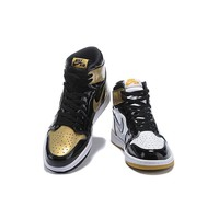 "Air Jordan 1 Retro High OG ""Top 3 Gold"" - Best Deal Online"