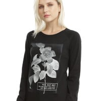 Fall Out Boy Flower Girls Pullover Top