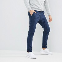 Superdry Rookie Chino In Navy at asos.com