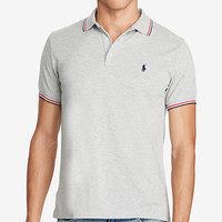 Polo Ralph Lauren Men's Custom-Slim-Fit Mesh Polo | macys.com