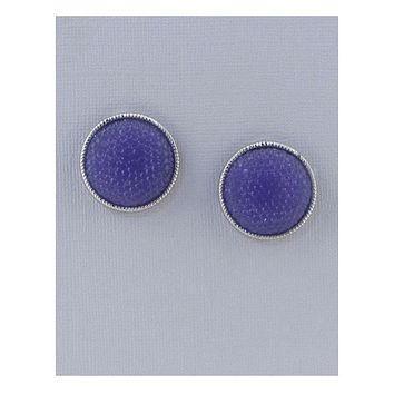 Colored Rhinestoned round Studs