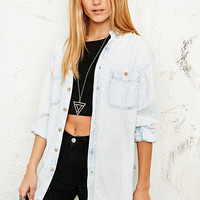 Vintage Renewal Denim Shirt in Acid Wash - Urban Outfitters