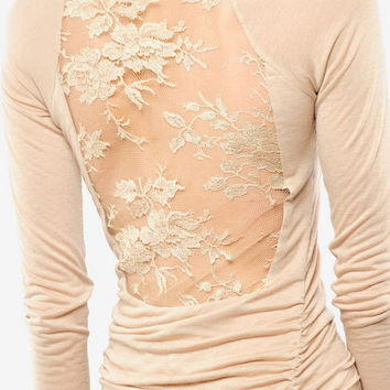 ALC Lace Back Twisty Dress $148