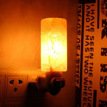 Himalayan Crystal Rock Salt Night Lamp