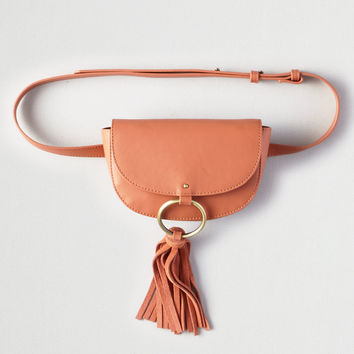 AEO Mini Saddle Belt Bag, Rose