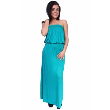 Tube Maxi Dress Made in the USA