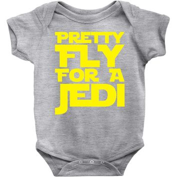 pretty fly for a jedi Baby Onesuit