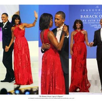 The Obamas Power Legacy & Elegance Unknown Art Print