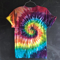 READY TO SHIP! Rainbow tie dye - small