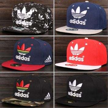 Adidas Performance Max Side Hit Baseball Cap Golf Hat Relaxed Fit Full color