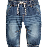H&M Denim Joggers $12.99