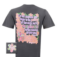Girlie Girl Originals Transformed Romans 12:2 Flower Christian Bright T Shirt
