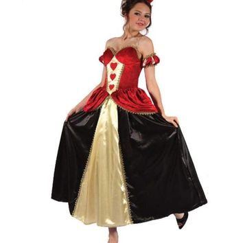 MOONIGHT Halloween Costume Bar Queen Uniform Party Role Play Cosplay Red Heart Costume Macchar Cosplay Catalogue