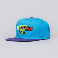 Flatspot - Undefeated Retro Snapback Cap Blue