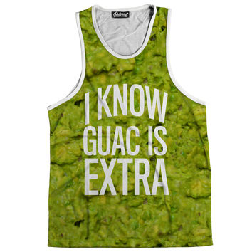 Guac Is Extra Men's Tank