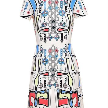 Flared Rook Dress - PETER PILOTTO