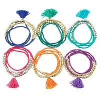 Tassle Bracelet or Necklace