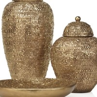 Plexus Collection - Gold | Bowls & Plates | Decorative Accessories | Accessories | Decor | Z Gallerie