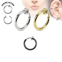 Titanium Ip Fake Cartilage & Septum (Sold Individually)