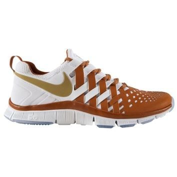Nike Texas Longhorns 2013 Red River Rivalry Free Trainer 5.0 Shoes - White/Burnt Orange