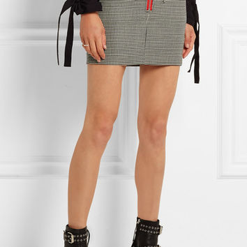 Isabel Marant - Layla stretch-wool mini skirt