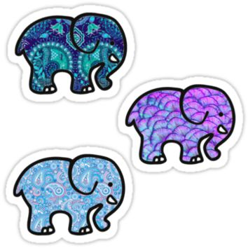 Ivory Ella - Tri Pack Stickers #2 by authenticity