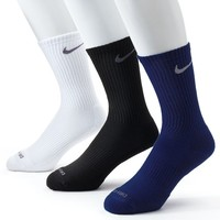 Nike 3-pk. Dri-FIT Cushioned Crew