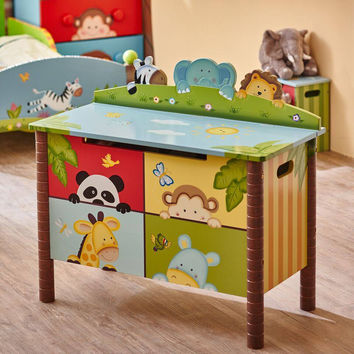 Fantasy Fields - Sunny Safari Toy Chest