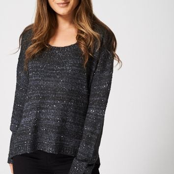 Sequin Knit Jumper Ex-Branded