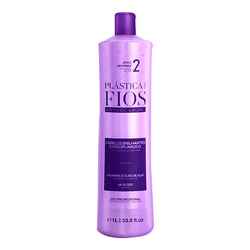CADIVEU PLASTICA DOS FIOS KERATIN HAIR TREATMENT STEP 2 SINGLE BOTTLE 1000ml (34oz)  .